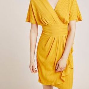 Anthropologie Aryessa Cardall Textured Dress
